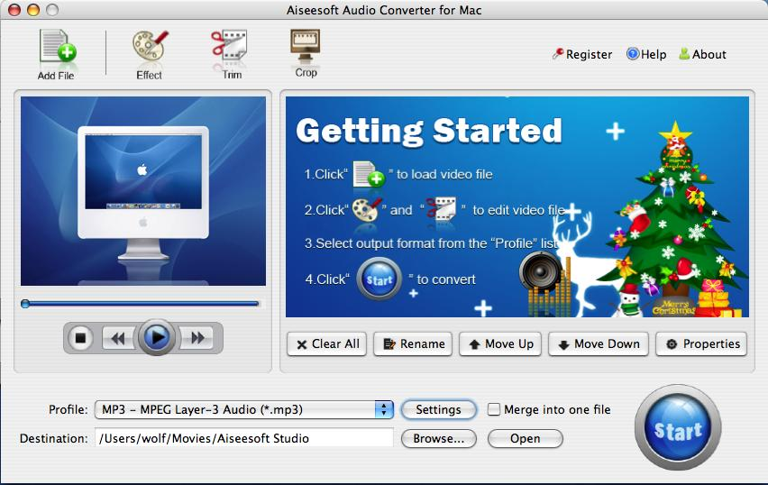 Audio Converter for Mac