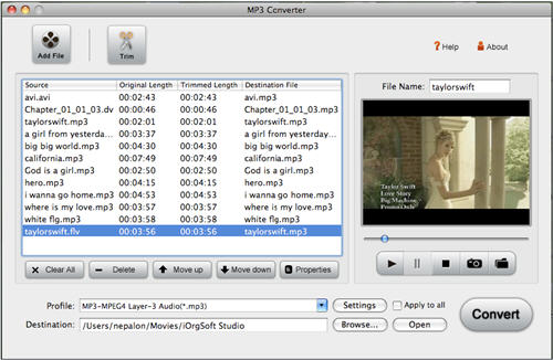 MP3 Converter for Mac